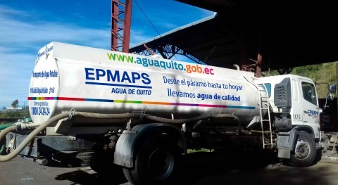 Agua Quito, solidaria Esmeraldas