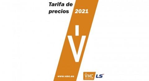 Nueva tarifa precios VMC 2021, partir 1 marzo
