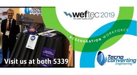 TecnoConverting participará WEFTEC 2019, Chicago