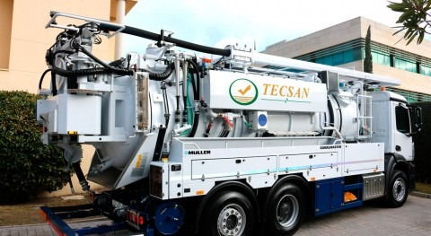 Limpieza redes alcantarillado camiones: parámetros generales caudal y presión