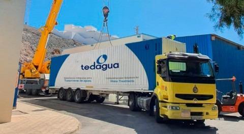 Tedagua finaliza instalación seis plantas desaladoras isla Fuerteventura