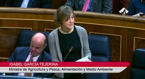 """García Tejerina: """" mejora calidad agua es prioridad este Gobierno"""""""