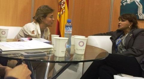 Isabel García Tejerina y Hakina El Haite