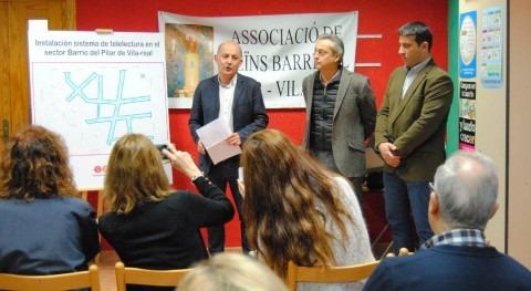 Vila-real y FACSA finalizan instalación contadores inteligentes Pilar
