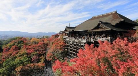Templo Kiyomizudera: agua pura Japón