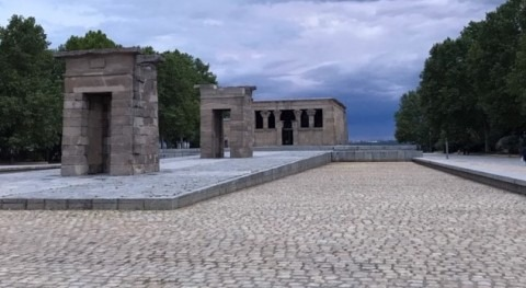 seco Templo Debod