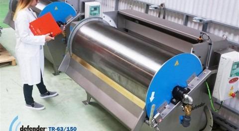 Toro Equipment implementa nuevo sistema rascado Tamices Rotativos Defender® TR-63