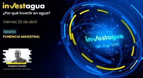 Teodoro Estrela anuncia INVESTAGUA partida 1.700 M€ PRTR destinada al agua