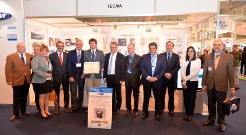 teqma recibe Premio Novedad Técnica Sobresaliente Smagua 2017