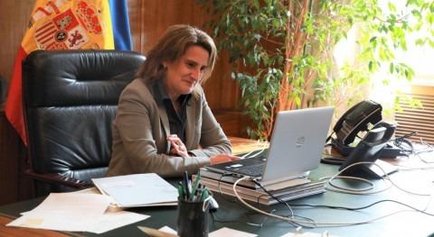 Teresa Ribera y John Kerry analizan cómo acelerar agendas acción climática y biodiversidad