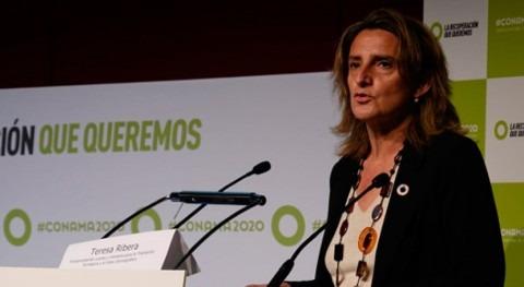"""Teresa Ribera: """"Es vital que sociedad entienda variable ambiental crear prosperidad"""""""
