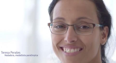 Teresa Perales, nadadora y medallista paralímpica