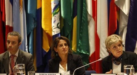 Teresa Ribera y Alicia Bárcena