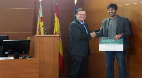 Guillermo Pardo, ganador premio mejor tesis doctoral Cátedra Cambio Climático