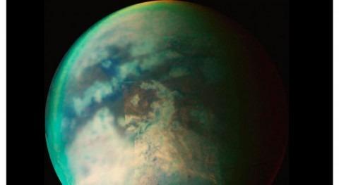 nuevo estudio encuentra evidencias lluvia polo norte luna Titán
