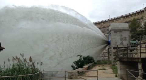Cataluña finaliza trabajos mejora toma Foix optimizar gestión caudales