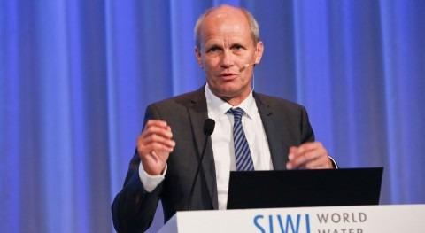 "Torgny Holmgren: ""Todos sectores han tomar parte decisiones agua"""