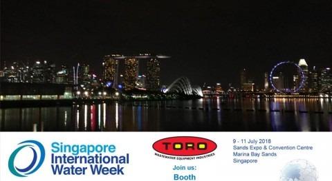 Toro Equipment, Singapore International Water Week