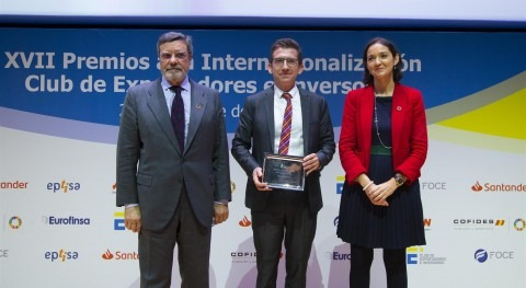 Toro Equipment, premio internacionalización Club Exportadores Españoles
