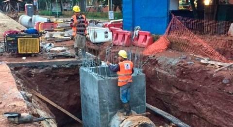 Continúan trabajos saneamiento corredor central Metrobús, Paraguay