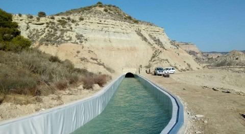 CHE ejecutará cinco obras Canal Bardenas, Zaragoza y Navarra
