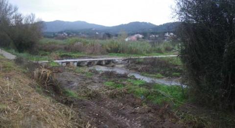 Minimizado riesgo inundaciones tramo 630 metros río Mogent