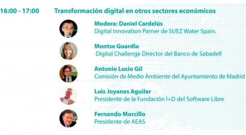"""#SmartWaterSummit: Mesa redonda """"Transformación digital otros sectores económicos"""""""