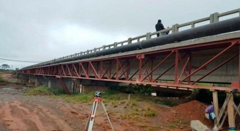 aductora agua Guairá Coronel Oviedo, Paraguay, se encuentra fase final
