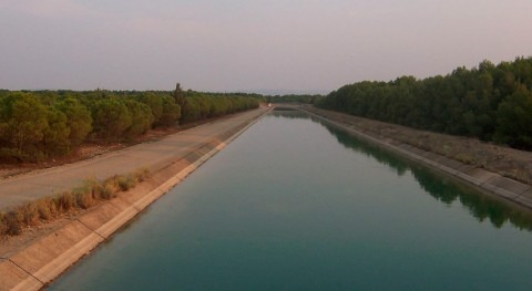 Trasvase Tajo-Segura: continúan obras embalse Bujeda reparar avería existe