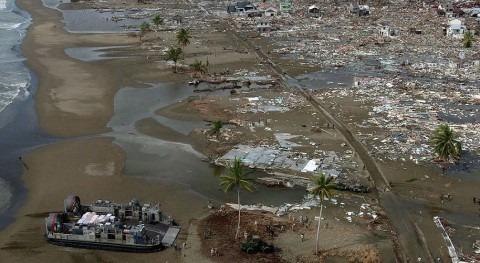 Tsunami en Indonesia en 2004 (wikipedia/CC)