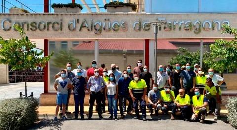 Xylem aporta tecnología reparación tubería principal CAT Tarragona