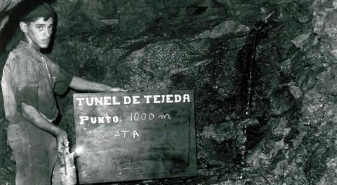 Relación obras hidráulicas portentosas Risco Caído y montañas sagradas Gran Canaria