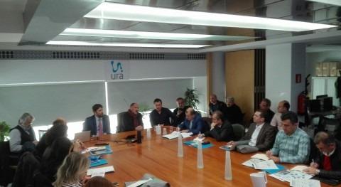Delegación Turquía visita URA compartir experiencias gestión agua