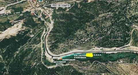 Cataluña saca información pública proyecto modificado depuradora Prat Comte