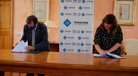 Govern Balear y UIB firman convenio crear sistema detección inundaciones