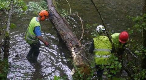 Culmina proyecto rehabilitación hábitat fluvial Leizaran