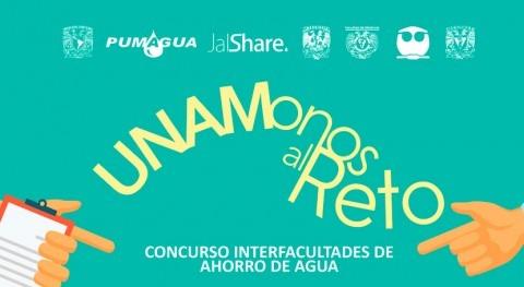 UNAMonos al Reto, concurso interfacultades ahorro agua UNAM