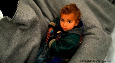 enfrentamientos e inundaciones incrementan sufrimiento niños norte Siria