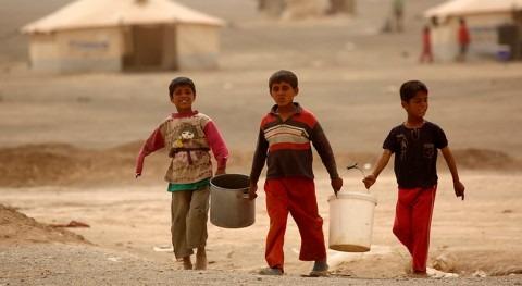 guerra ha arrebatado sirios 40% agua potable disponible antes conflicto