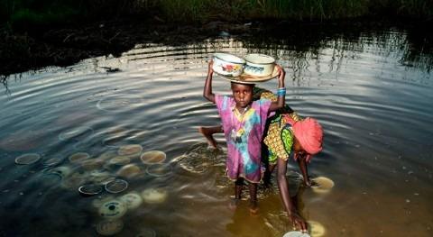 Mueren más niños enfermedades relacionadas agua que violencia, UNICEF