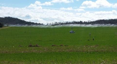 Impacto uso agua agricultura