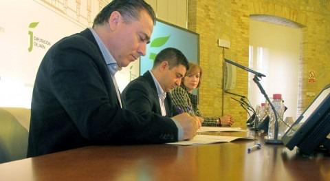 Acuerdo UPA y Diputación Jaén mejorar eficiencia energética regadío olivar provincia