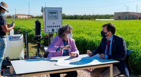 proyecto investiga capacidad cebada como filtro verde acuíferos Mar Menor