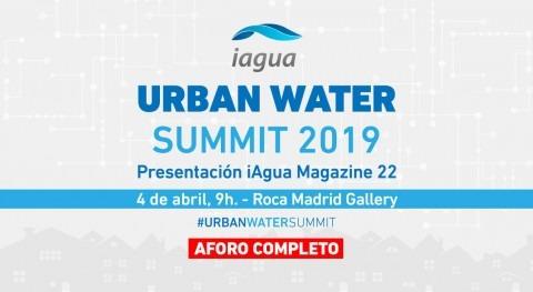 Aforo completo Urban Water Summit que se celebra mañana Madrid