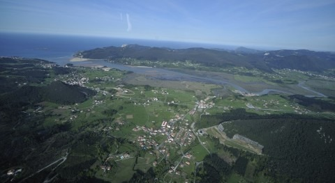 aguas residuales Sukarrieta y cámping Portuondo dejan verterse ría Mundaka