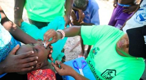campaña vacunación cólera Haití, punto finalizar