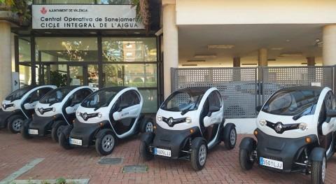 ACCIONA incorpora cinco vehículos eléctricos al Servicio Saneamiento Valencia