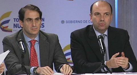 El Ministro de Ambiente y Desarrollo Sostenible, Gabriel Vallejo López