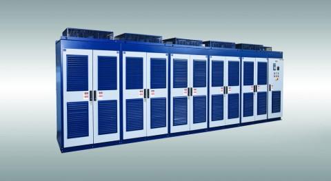 WEG aumenta la potencia nominal de los variadores de velocidad de media tensión MVW01 de 6,5 MW a 16 MW para determinados rangos de tensiones.