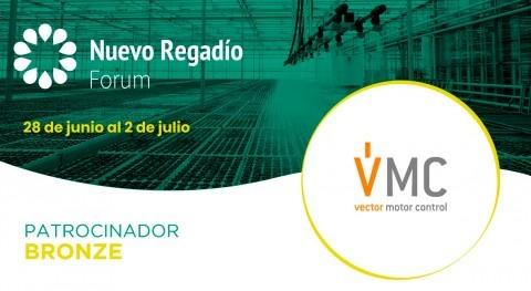 Vector Motor Control, especialista gestión energía, Bronce Sponsor Nuevo Regadío Forum